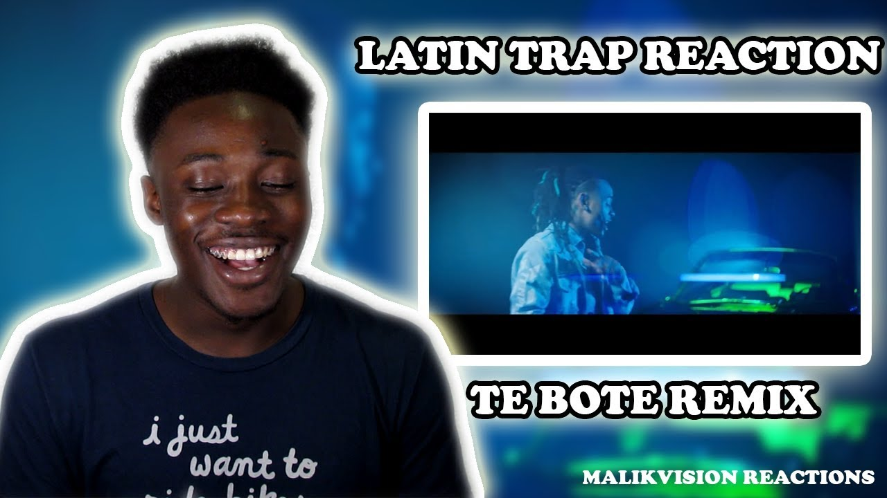 Download AMERICAN REACTS TO LATIN TRAP ( Te Bote Remix REACTION )