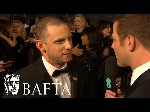 Jamie Bell Red Carpet Interview   EE BAFTA Film Awards 2018