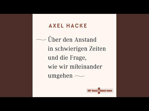Über den Anstand in schwierigen Zeiten und die Frage, wie wir miteinander umgehen YouTube Hörbuch Trailer auf Deutsch