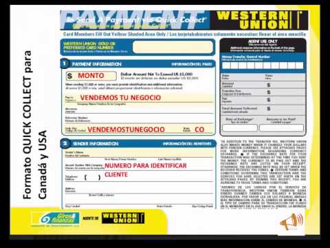 Quick Pay Western Union