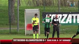 Serie D Girone D Tuttocuoio-V.A.Sansepolcro 0-1
