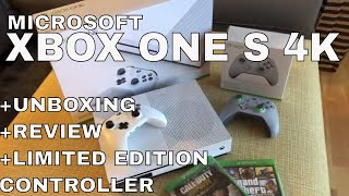 MICROSOFT XBOX ONE S 4K - Unboxing and Review