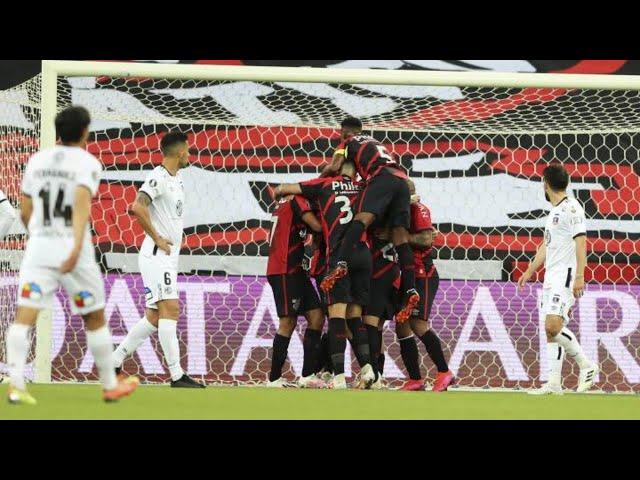 Athletico Paranaense 2 - Colo Colo 0 / Análisis