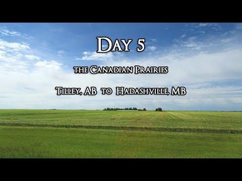 Day 5 : Prairies and Winnipeg, MB