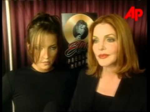 1997 Elvis NightClub  Priscilla Presley & Lisa Marie Presley & Jewel