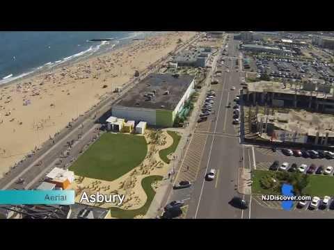 Aerial Asbury Park Boardwalk - NJ Discover