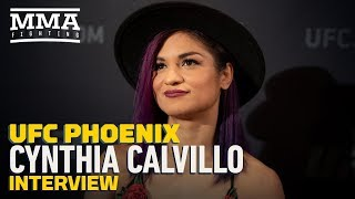 UFC Phoenix: Cynthia Calvillo Explains Changes Made After Missing Weight in Last Fight