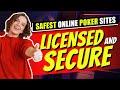 Safest Online Poker Sites ♣️ Best Sites to Play Poker 💯