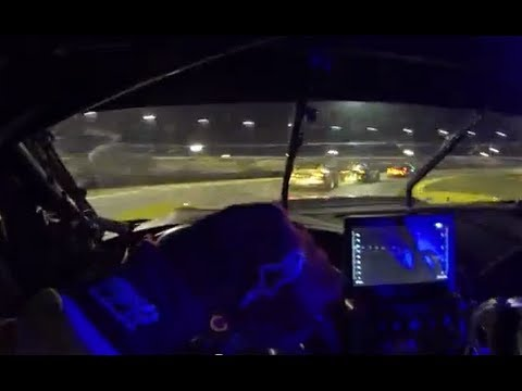 24 Hours of Daytona: Corvette C7.R with Tommy Milner  DRIVER'S EYE
