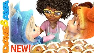 🥖 Hot Cross Buns | Nursery Rhymes | Nursery Rhymes and Kids Songs from Dave and Ava 🥖