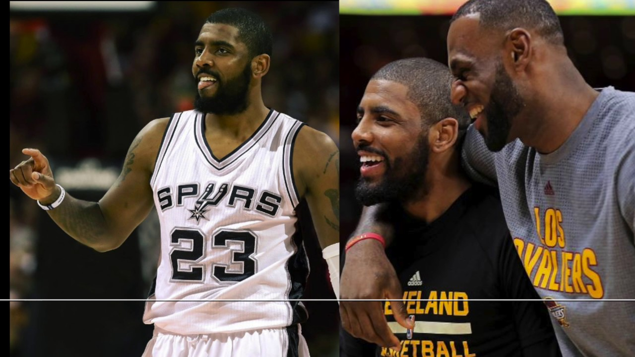 8f3cd6cedcab Kyrie Irving Tells Lebron James   Cleveland Cavaliers He Wants To Play For San  Antonio Spurs