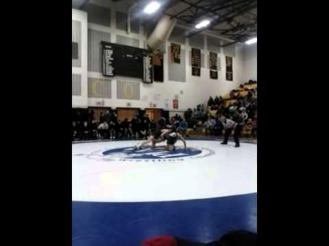 Denny Sisti's wrestling matches