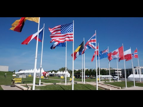 Normandy (Part 1): D-Day Museum, Omaha Beach/American Cemetery, Pointe du Hoc