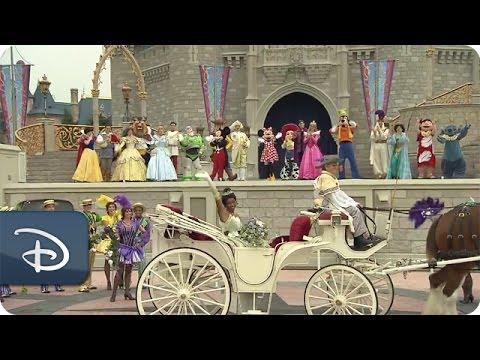 Princess Tiana Welcomed To The Magic Kingdom Walt Disney World