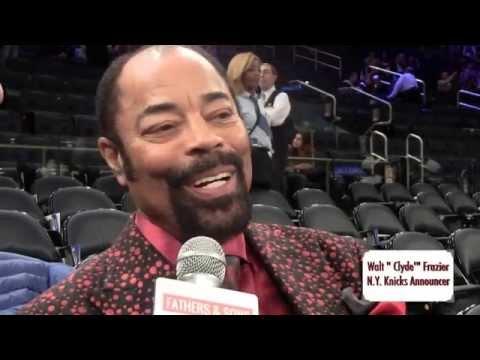 "WALT ""Clyde"" FRAZIER INTERVIEW:  NOV. 2, 2015"
