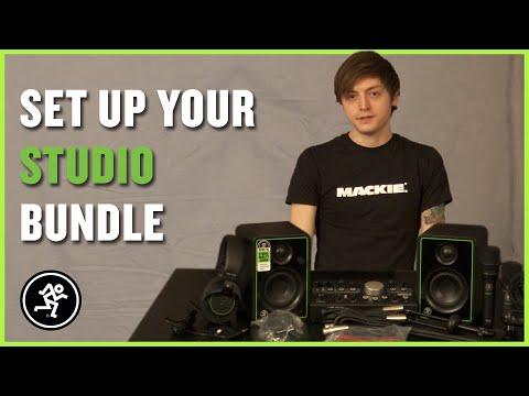 Mackie Studio Bundle - Setup