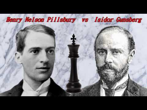 Partite Commentate di Scacchi 257 - Pillsbury vs Gunsberg - Posta o Patta? - 1895 [D10]