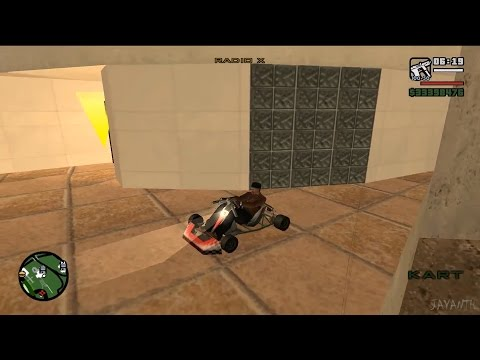 How To Get A Go Kart In GTA San Andreas