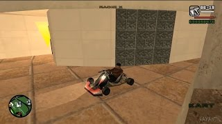 How Get Go Kart Gta San Andreas