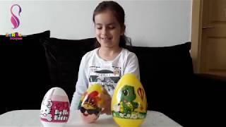 Sürpriz Yumurta Açtık / Surprise opened egg / Eğlenceli Çocuk Videosu