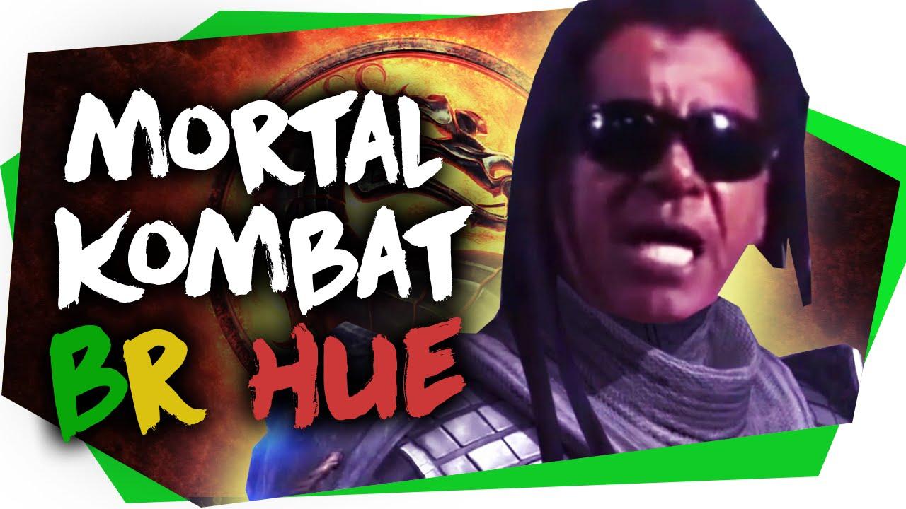 Mortal Kombat com personagens brasileiros