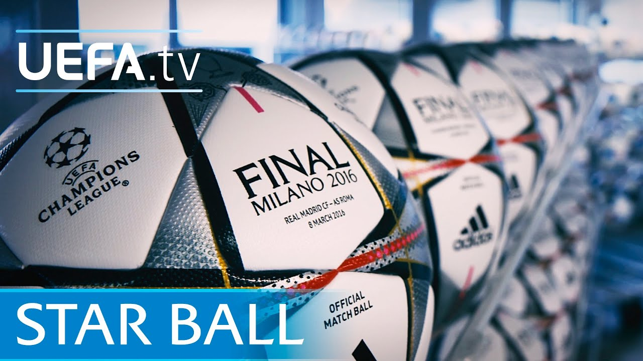 revealed the new uefa champions league ball see it here youtube revealed the new uefa champions league ball see it here