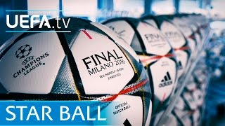 Revealed: The new UEFA Champions League ball! See it here