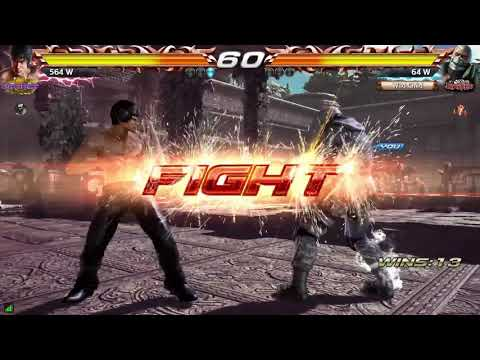 Tekken 7 Bryan Fury Taunt Jet uppercut Highlights