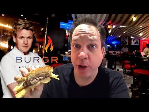 Gordon Ramsay Restaurant Las Vegas - Ultimate Cheeseburger!