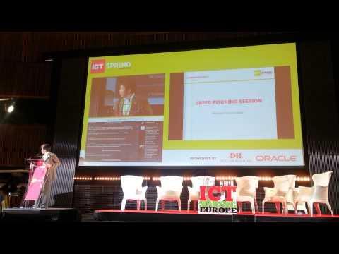 ICT Spring 2014 startup pitch: Nikkei BP editor Takahiro Hikuchi's presentation