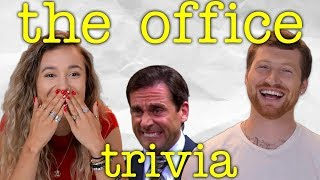 Scotty Sire & Kristen McAtee Compete in Our Ultimate The Office Smoothie Trivia Challenge! Video