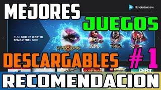 RECOMENDACION DE JUEGOS DESCARGABLES PARA PLAYSTATION NOW EUR de la A - G | PARTE 1 🎮