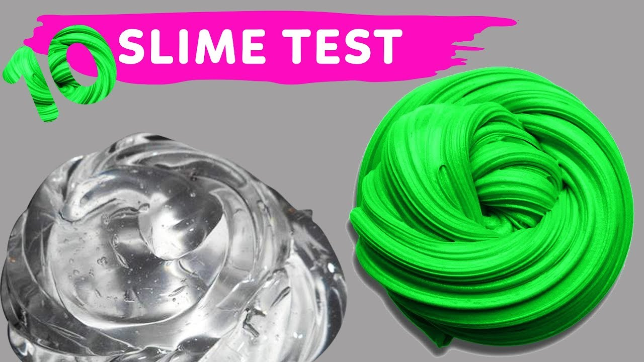 Download NO GLUE SLIME TEST 10 Amazing Water Slime Recipe