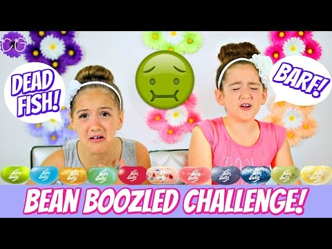 BEAN BOOZLED CHALLENGE! GROSS JELLY BELLY JELLY BEANS!