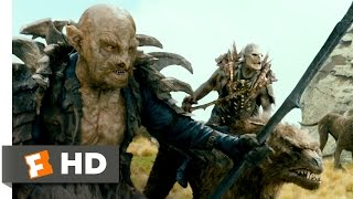 The Hobbit: An Unexpected Journey - Hunted by Orcs Scene (7/10) | Movieclips