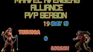 Marvel Avengers Alliance : PvP Season 19 Day 9