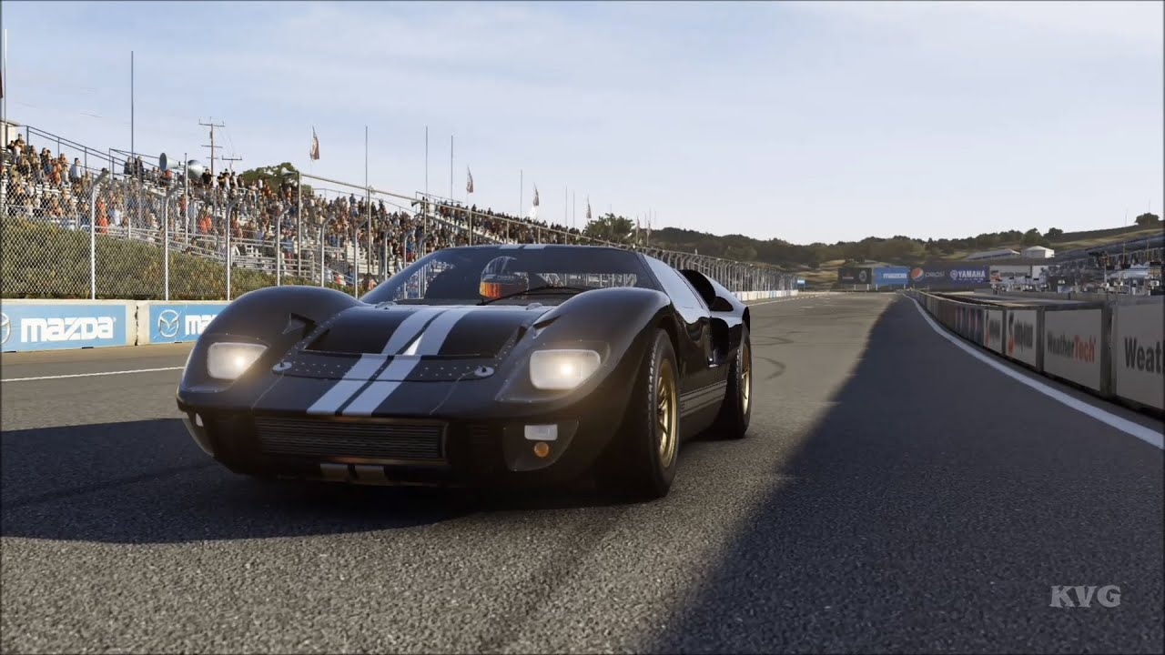 forza motorsport 6 ford gt40 mk ii 1966 test drive gameplay xboxone hd 1080p60fps