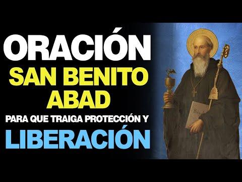 🙏 Oración de PROTECCIÓN Y LIBERACIÓN MILAGROSA a San Benito Abad ❤️