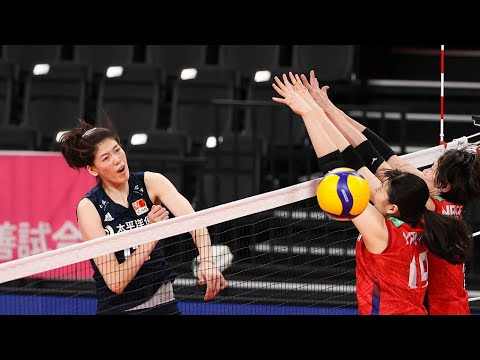 Download Japan vs. China   Women's Volleyball Tokyo Challenge 2021