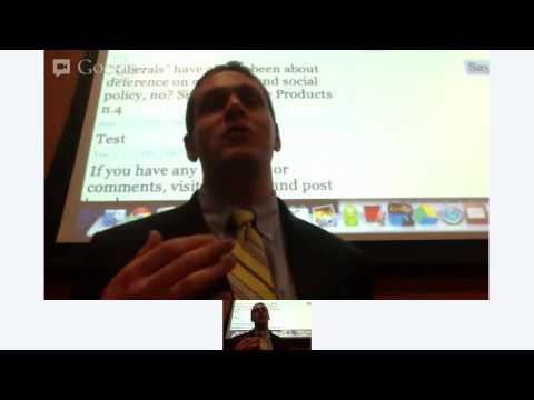 Presentation at Georgetown University Law Center Constitutional Law Colloquium