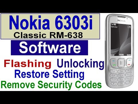 How to Flash Nokia 6303i Classic With Infinity Best BY Gulzo