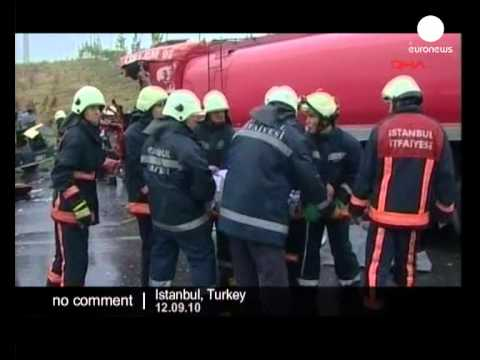 Terrible accident in Turkey - no comment