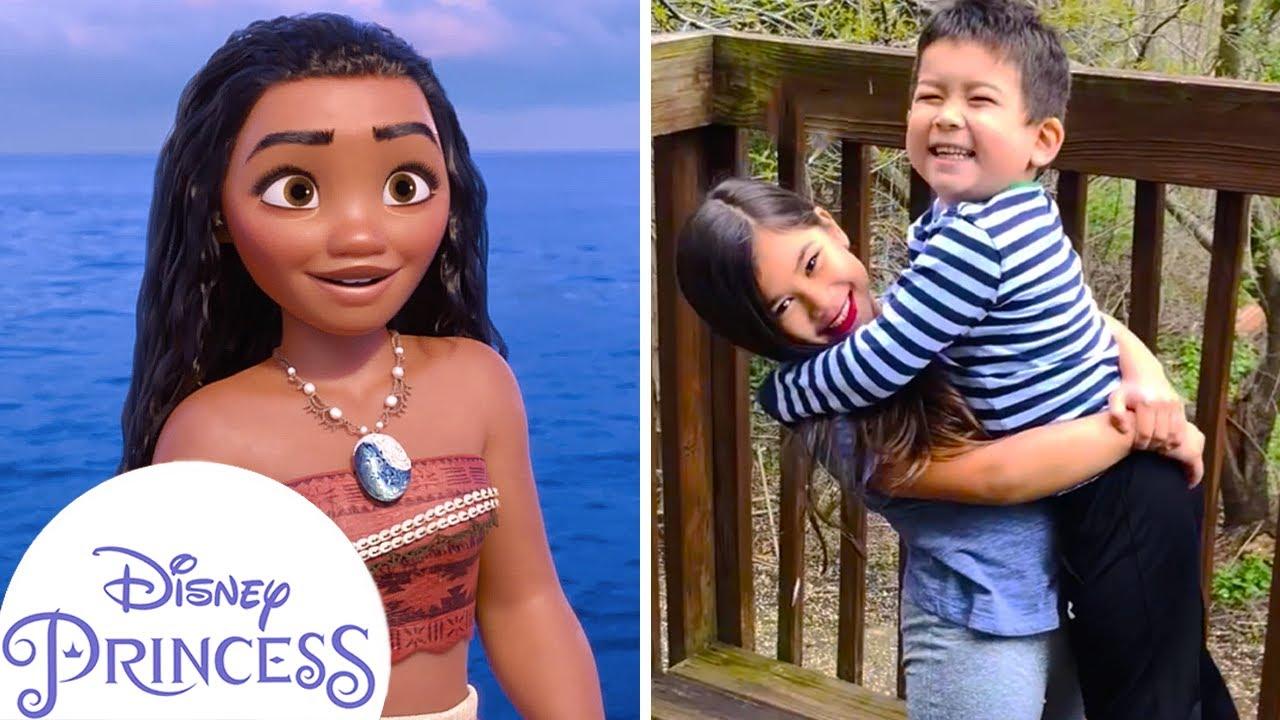 Real Life Prince & Princess | Zach & Aria - Inspired by Moana | Ultimate Princess Celebration
