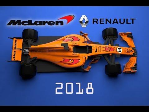 McLaren-Renault 2018 season / F1 concept / car Alonso