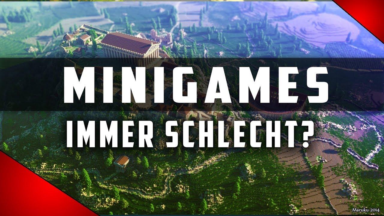 SERVER TIPPS Über Werbung Minigames Und Reallife Konzepte - Minecraft spieler server finden