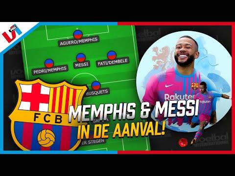 Zo Moet Barcelona Met MEMPHIS & MESSI Gaan Spelen