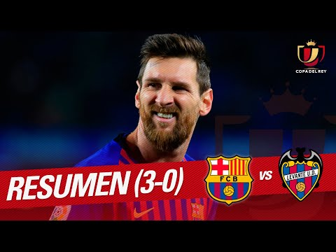 Highlights FC Barcelona vs Levante UD (3-0)