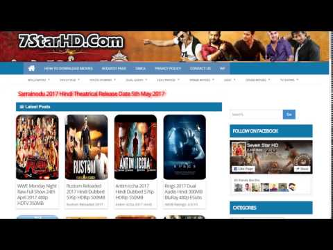 How To Download Movies On 7StarHD From PC Laptops or Mobile Phone