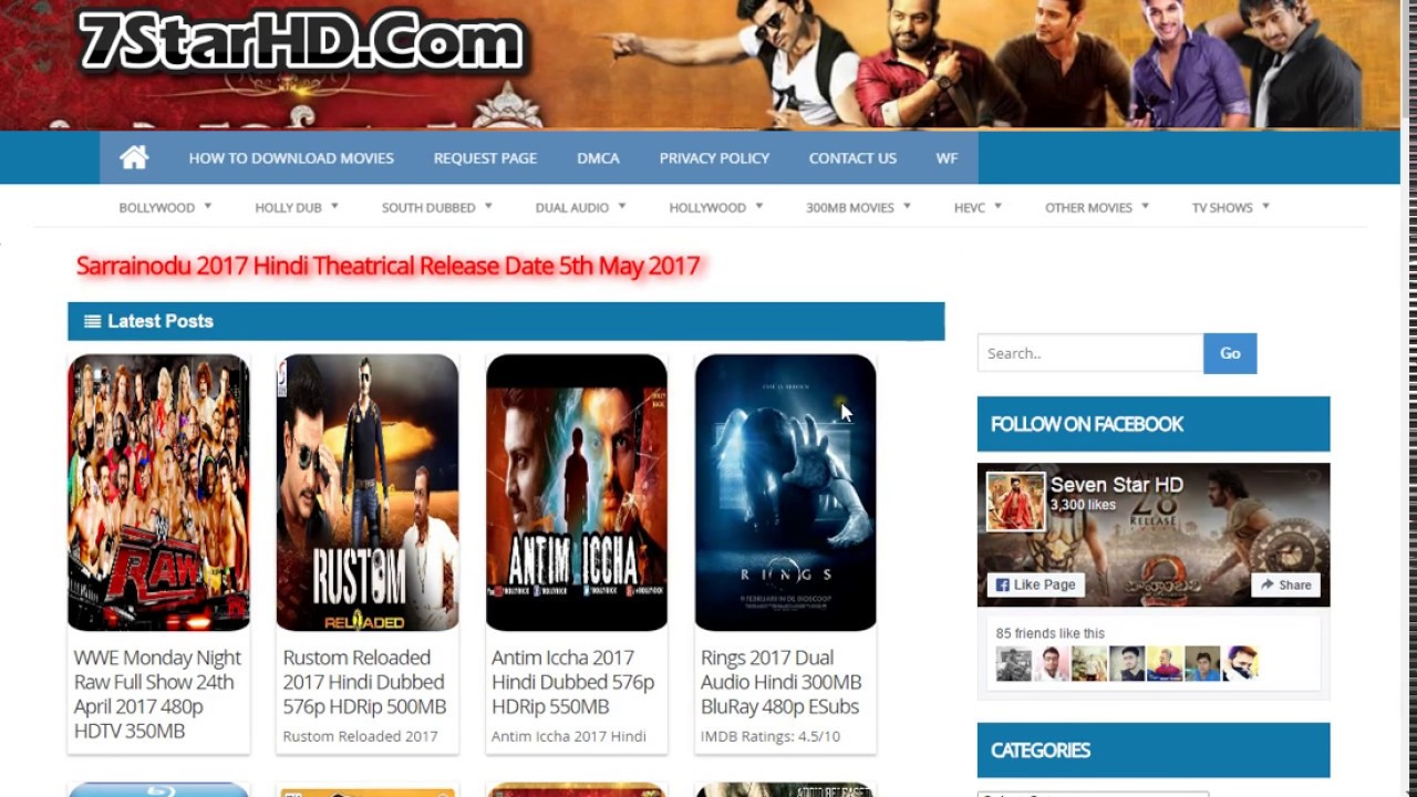 how to download movies on 7starhd from pc laptops or mobile