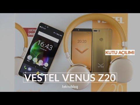 Vestel Venus Z20 Kutusundan Çıkıyor